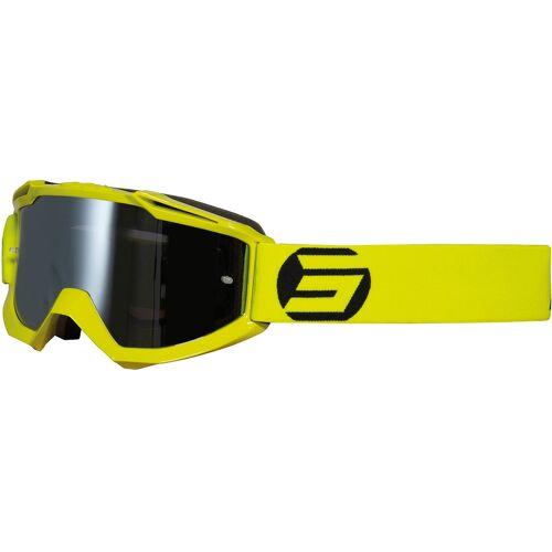 Shot Iris Symbol Motocross Brille Gelb