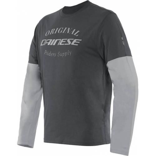Dainese Paddock LS T-Shirt Grau 2XL
