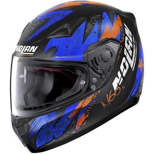 Nolan N60-5 Bounty Helm Schwarz Blau S