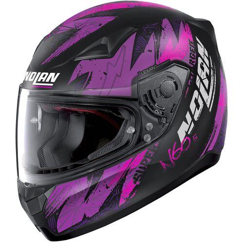 Nolan N60-5 Bounty Helm Schwarz Pink M