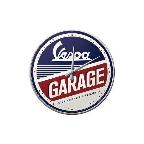 Vespa Wanduhr Vespa Garage