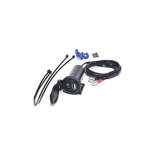 BAAS USB-Bordsteckdose 2100 MA, Federklappdeckel
