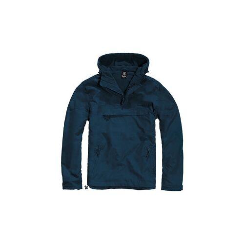 Brandit Windbreaker Anorak blau M