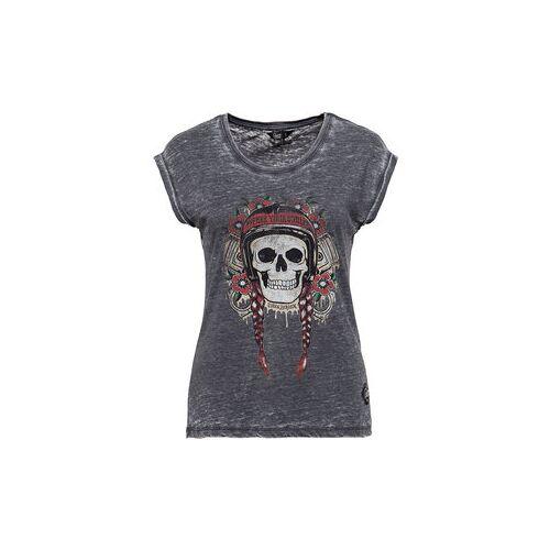 King Kerosin Queen Kerosin Free Your Soul Damen T-Shirt schwarz L