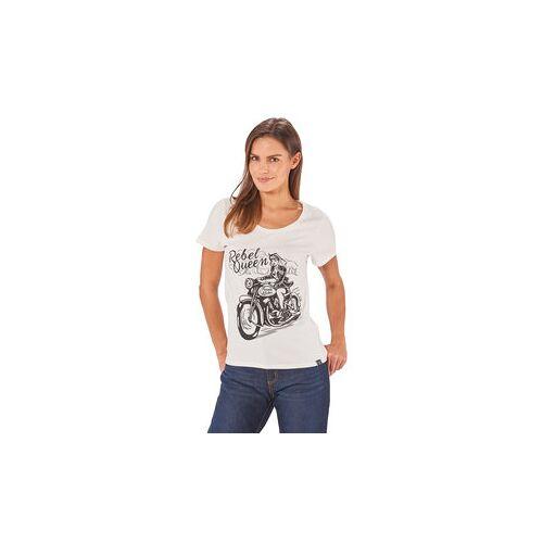 King Kerosin Queen Kerosin Rebel Queen Damen T-Shirt weiß S