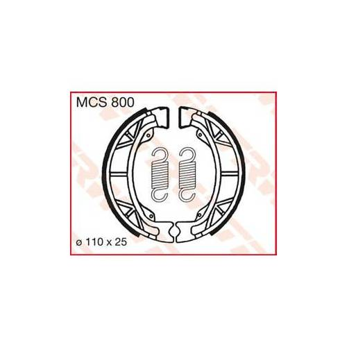 TRW Bremsbacken Organisch Rex Rs700 (50ccm)