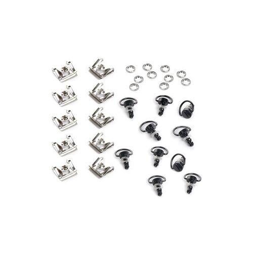Berning Schnellverschluss-Set Silber oder schwarz
