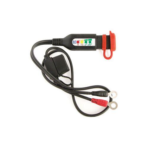 OptiMATE Batteriestatusanzeige mit Ring- ösen für 12V Blei-/Gel-Batterien