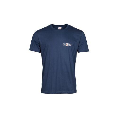 Louis Roxley T-Shirt blau M
