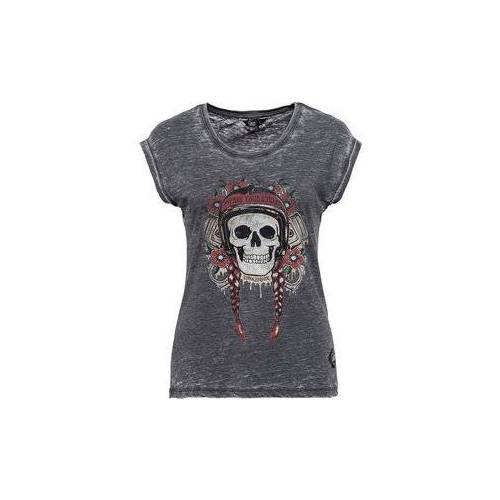 King Kerosin Queen Kerosin Free Your Soul Damen T-Shirt schwarz XL