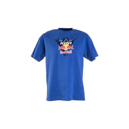 Kini Red Bull Corrugated T-Shirt blau XXL