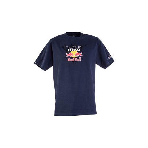 Kini Red Bull Corrugated T-Shirt blau L