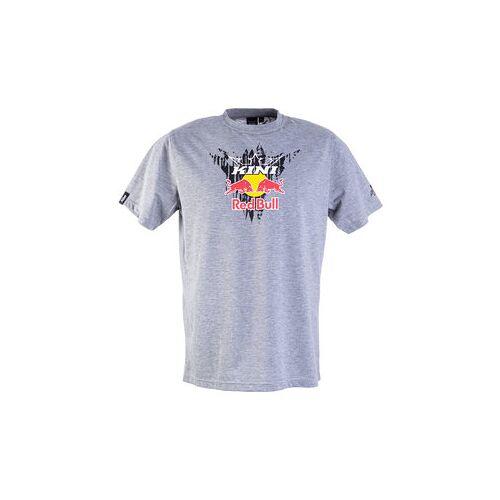 Kini Red Bull Corrugated T-Shirt grau S