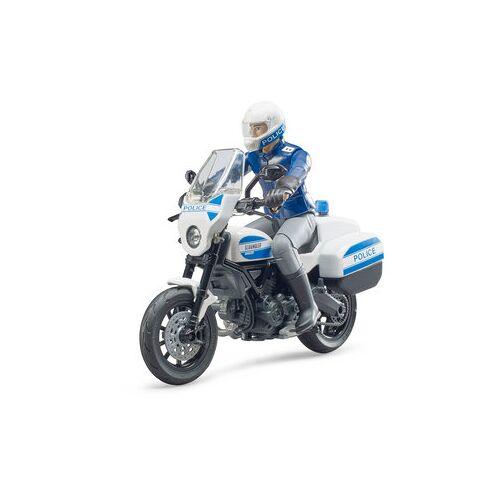 Bruder Spielwaren Bruder Ducati Polizeimotorrad inkl. Motorrad und Polizist