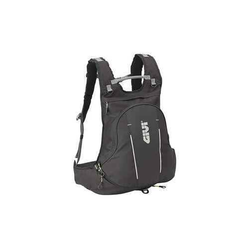 Givi Rucksack mit Helmtasche 22 Liter, erweiterbar, schwarz