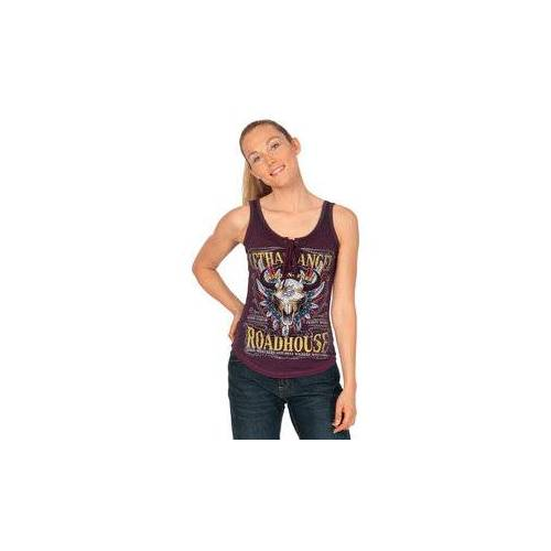 Lethal Angel Roadhouse Tank Top lila S