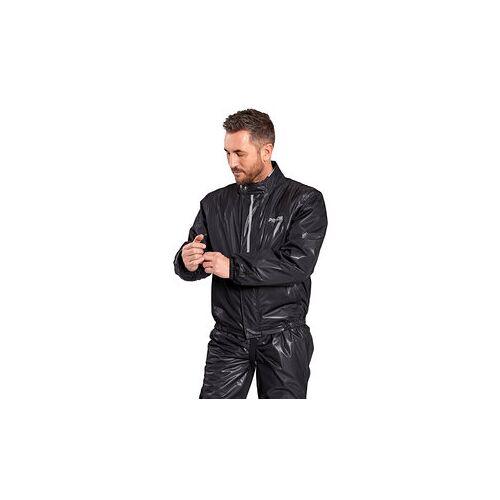 Proof Dry Light Membran-Regenjacke Damen und Herren schwarz M