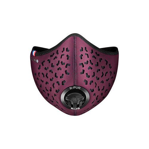 R-PUR Anti-Feinstaub Maske rot UNI