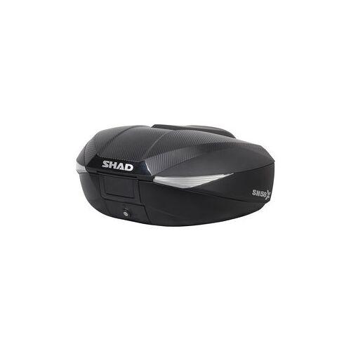 SHAD Topcase SH58X Größenverstellbar, Carbonlook