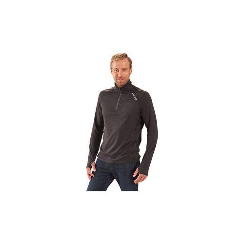 Vanucci Zip-Shirt grau L