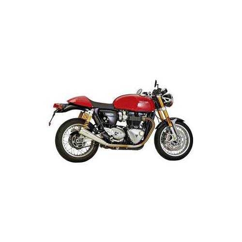Shark Auspuff SHARK Retro Auspuffsysteme Triumph Speed Twin