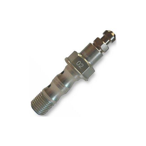 stahlbus Doppelhohlschraube, M10 x 1.0 x 29 mm, Alu