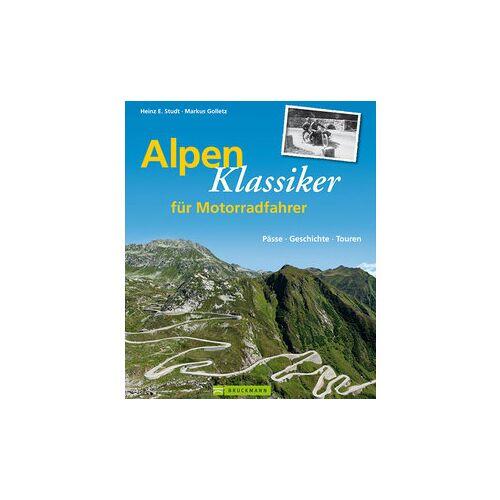 Bruckmann Verlag Alpen Klassiker für Motorradfahrer