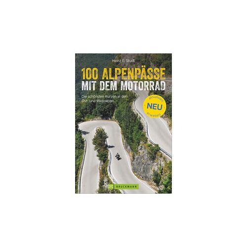 Bruckmann Verlag 100 Alpenpässe mit dem Motorrad in den Ost- und Westalpen