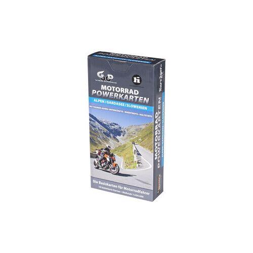 Louis Karten für Alpen und Gardasee