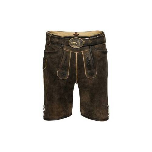 Almsach Kurze Lederhose  - Size: 50 54 56 58