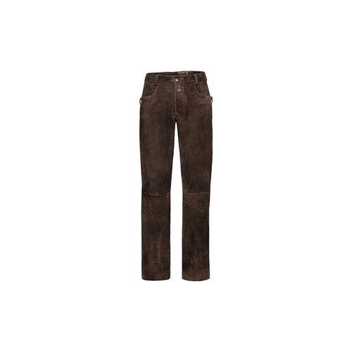 Almsach Lange Lederhose Kasper  - Size: 50 52 56 58