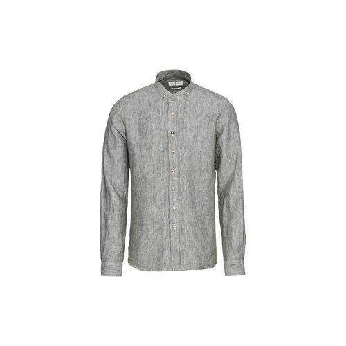 Almsach Leinen-Trachtenhemd Slim  - Size: 37/38 39/40 41/42 43/44 45/46