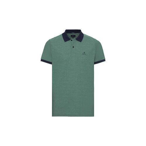 Gant Piqué-Poloshirt mit Kontrastkragen  - Size: 48/50 52 54 56/58 60