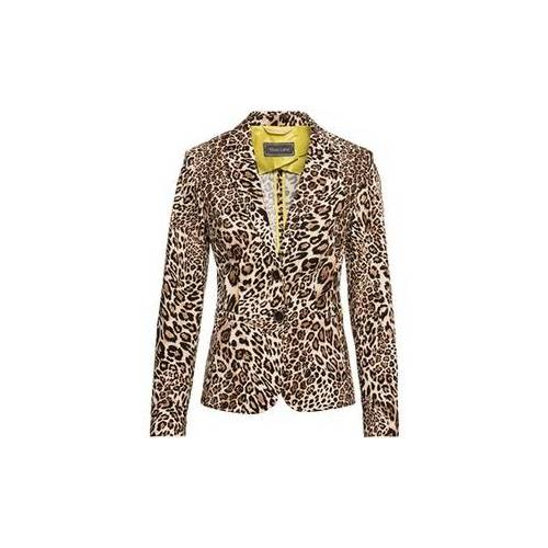 White Label Blazer mit Leoparden-Print
