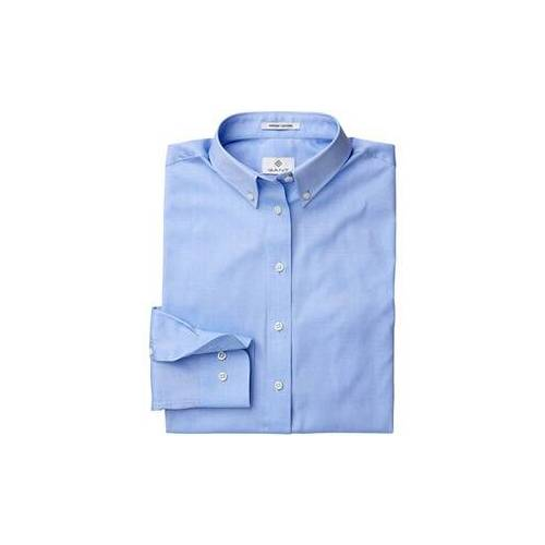 Gant Pinpoint Oxford-Bluse  - Size: 34 36 38 40 42 44