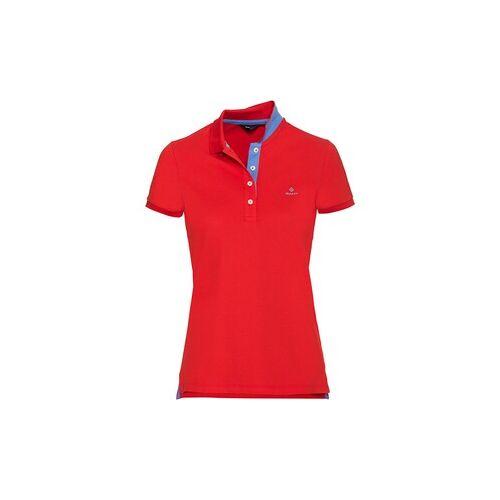 Gant Piqué-Poloshirt mit Kontrastkragen  - Size: 36 38 40 42 44