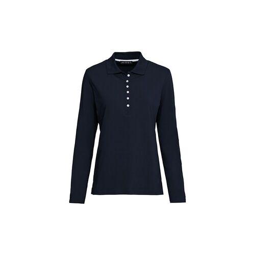 JETTE Langarm-Poloshirt  - Size: 36 40 42 44 46 48
