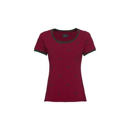 Luis Steindl T-Shirt mit Hirschmotiv  - Size: 36 38/40 42/44 44/46