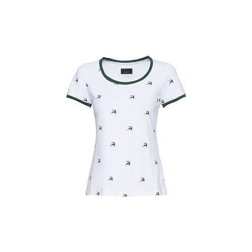 Luis Steindl T-Shirt mit Hirschmotiv  - Size: 36 38/40 42/44 46/48