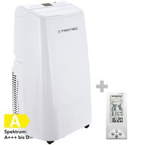 Trotec Lokales Klimagerät PAC 3500 E + Design-Wetterstation BZ06