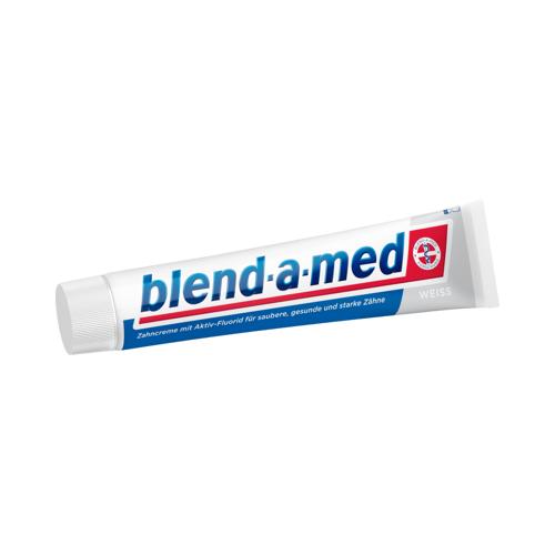 BLEND A MED weiß Zahncreme 75 ml