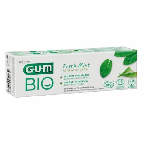 GUM Bio Zahnpasta fresh mint 75 ml