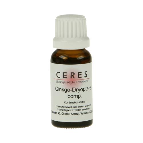 CERES Ginkgo dryopteris comp.Tropfen 20 ml