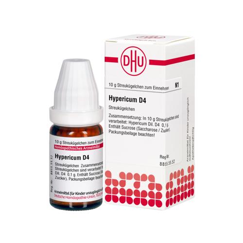HYPERICUM D 4 Globuli 10 g