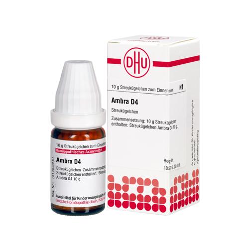 AMBRA D 4 Globuli 10 g