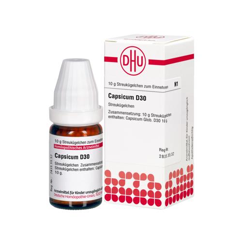 CAPSICUM D 30 Globuli 10 g