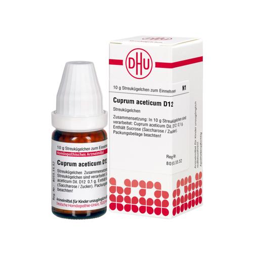 CUPRUM ACETICUM D 12 Globuli 10 g