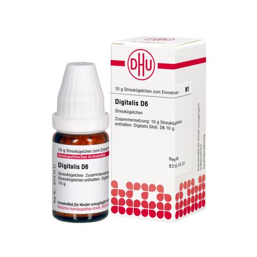 DIGITALIS D 6 Globuli 10 g