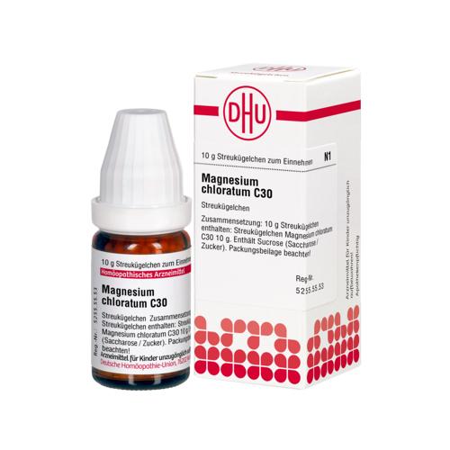 MAGNESIUM CHLORATUM C 30 Globuli 10 g