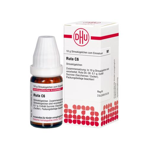 RUTA C 6 Globuli 10 g